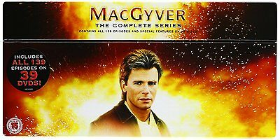 ❏ MacGyver Series 1 - 7 DVD Complete Collection ❏ 1 2 3 4 5 6 7 McGyver