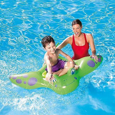 """Bestway Kids Manta Ray Ride On Swimming Pool Beach Holiday Inflatable 59""""x 45"""""""