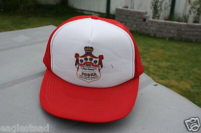 Ball Cap Hat - Pierre Smirnoff Vodka - Toronto Canada - Russian Liquor (H806)