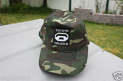 Ball Cap Hat - Toyota Trucks - Tundra - Camouflage Hunting style (H807)