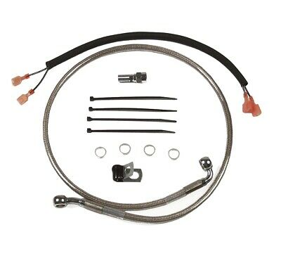 Rear Stainless Brake Line 1989-2004 Harley-Davidson Softail FXSTB FXSTC FXSTS