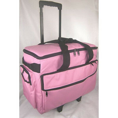 Classy Sewing Machine Trolley in Pink New