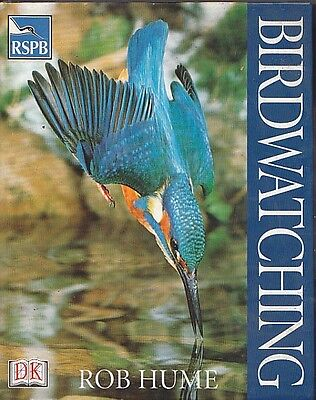Birdwatching Rob Hume Rspb Birds Birdwatcher Wildlife Guide Binoculars Bird Book