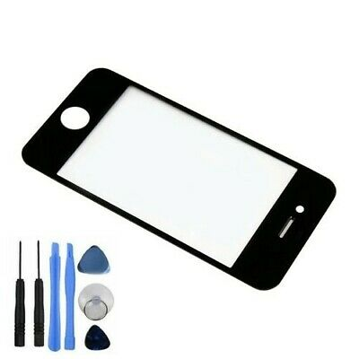 New Front Screen Lens Glass For iPhone 4S Replacement Part Black