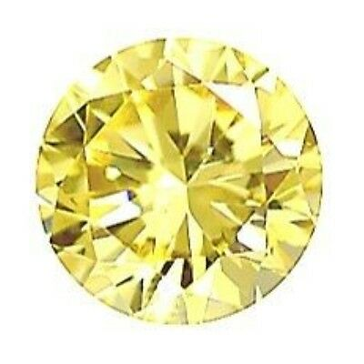 7mm ROUND NATURAL LEMON QUARTZ YELLOW GEM GEMSTONE