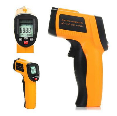 Non-contact Digital Thermometer Gun Infrared IR Sensor Laser Temperature meter