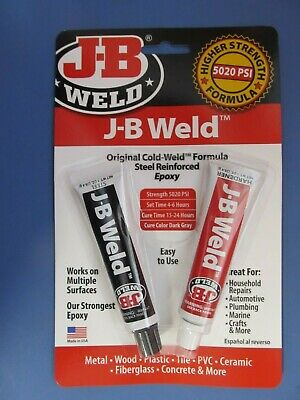 JB Weld Cold Weld Bonding Compound.#8265-S  NEW in package