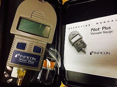 Inficon Pilot Plus Vacuum Gauge, with carrying case, 710-202-G1,