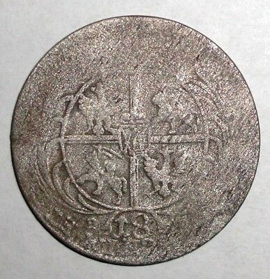 Medieval Poland - Lithuania, AR Ort (1/4 Thaller) August (1733-1763)