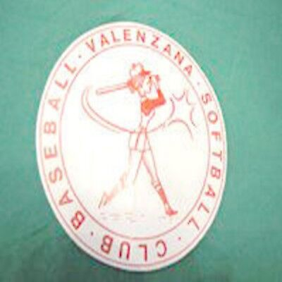 Valenzana Baseball Softball Club adesivo sticker RARO
