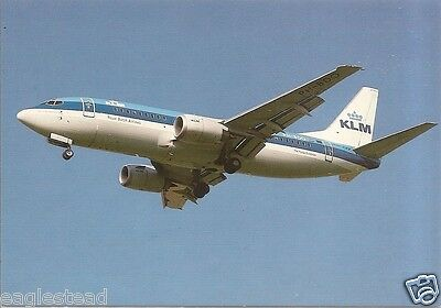 Airline Postcard - KLM - B737 - PH-BDO - Gear Flaps Down (P3205)