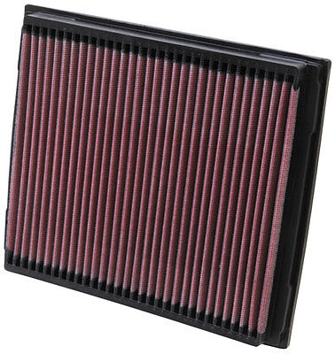 K&N Air Filter Element 33-2788 (Performance Replacement Panel Air Filter)