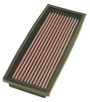 K&N Air Filter Element 33-2647 (Performance Replacement Panel Air Filter)