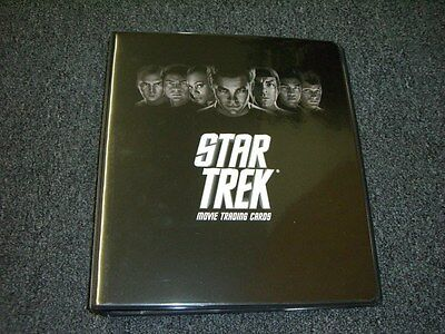 2009 Star Trek The Movie Trading Cards Album / Binder with Promo P3