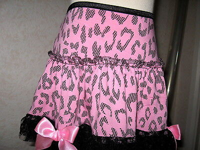 Baby Girls Black,pink spot,leopard lace Frilly Party,Gift Summer Skirt,Retro,
