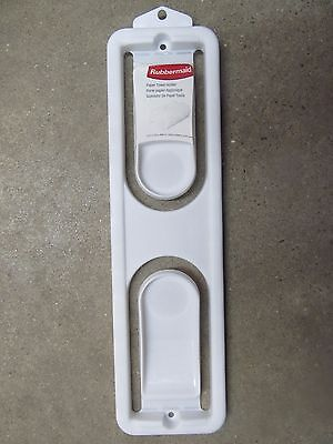 "Rubbermaid Paper Towel Holder 12.75"" x 3.5"" #2361-87-WHT  NEW"