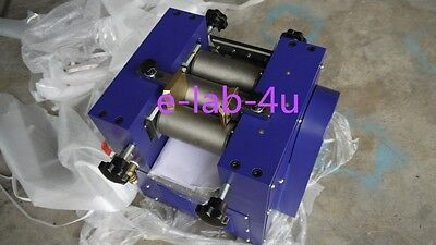 Three Roll Grinding Mill  grinder for lab applications 128mm roller 5kg/h