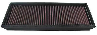 K&N Air Filter Element 33-2513 (Performance Replacement Panel Air Filter)