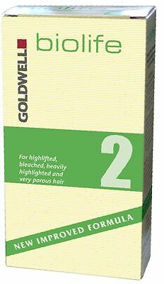 Goldwell Biolife Bio Life Perm Lotion No 2 For Tinted Coloured High lighted Hair