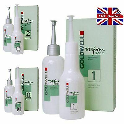 Goldwell Bio Curl (top form) Herbal Perm Lotion All Strengths Stocked Biocurl