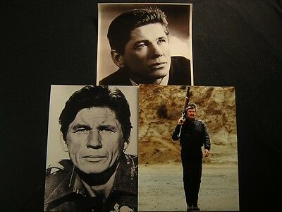 Charles Bronson 6 Assorted PHOTO LOT 598Q