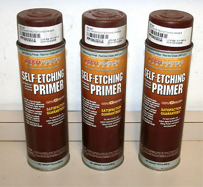Red Oxide Self Etching Primer for Mustang  Falcon