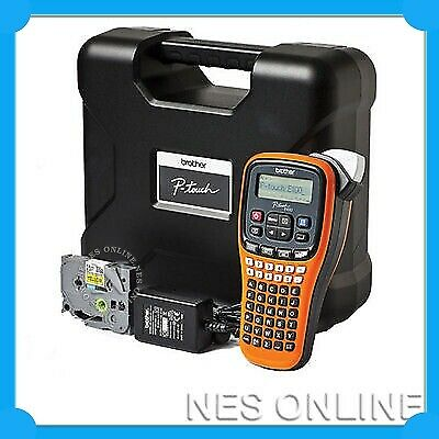 Brother PT-E100VP P-Touch Label Printer Thermal Labeller /w Carry Case Rugged