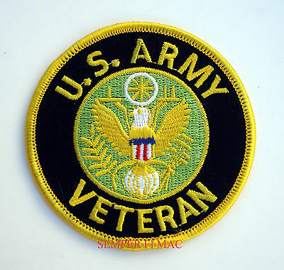 Us Army Veteran Hat Patch Guard Vet Fort Pin Up Vietnam Afghanistan Iraq Gift