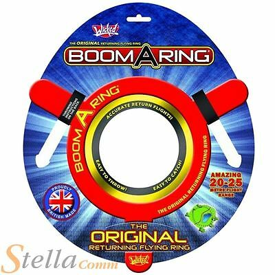 Wicked Vision Boom-A-Ring Outdoor Toy Flying Disc Frisbee Boomarang Garden Game