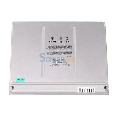 """New 9 Cell Laptop Battery for Apple MacBook Pro 15"""" A1211 A1226 A1260 Silver"""