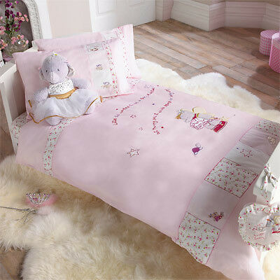 Izziwotnot Humphrey's Corner Lottie Fairy Princess Duvet Cover & Pillow Case Set