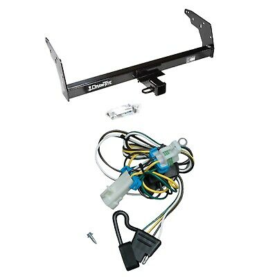 Draw-Tite Class III/IV Trailer Receiver Hitch & Wiring for Chevy S-10 / GMC S-15