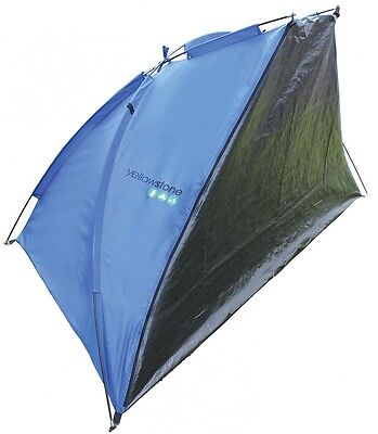Yellowstone Beach Shelter With Closure Blue & Green 1 Person Summer Skin