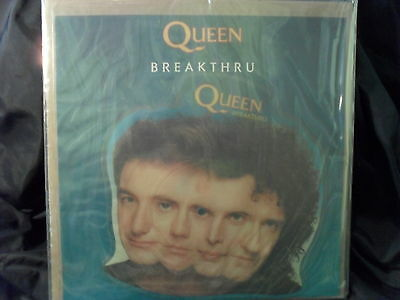 "Queen - Breakthrue 7"" Picture-Shape"