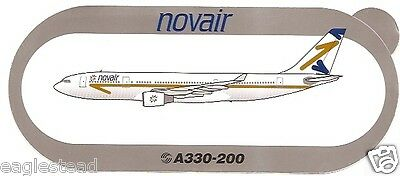 Baggage Label - Northwest - A330 200 - NWA - Airbus - Sticker (BL504)