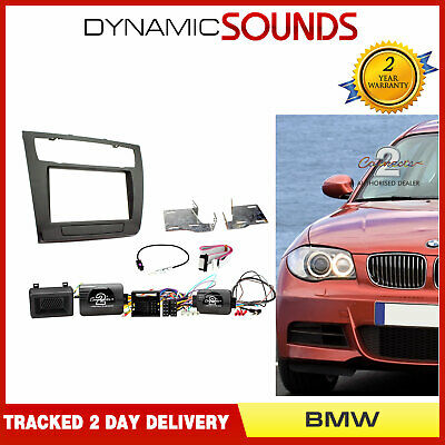 CTKBM08 Double Din Stereo Fascia Facia Fitting Kit For BMW 1 Series 2007-2013