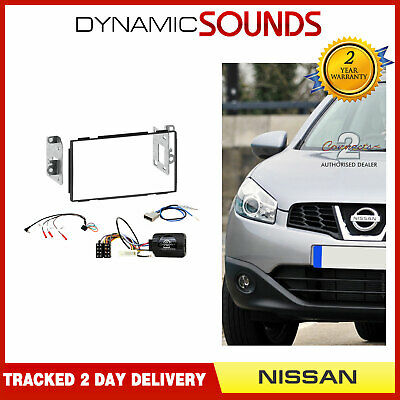 CTKNS03 Double Din Car CD Stereo Fascia Fitting Kit For Nissan Qashqai 2007-2013