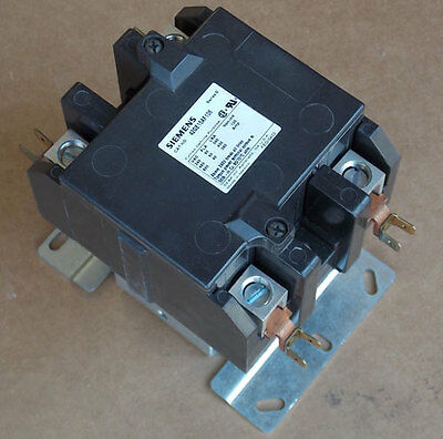 New Siemens 42GE15AG106 90A 2P 208-240V Coil Definite Purpose Magnetic Contactor