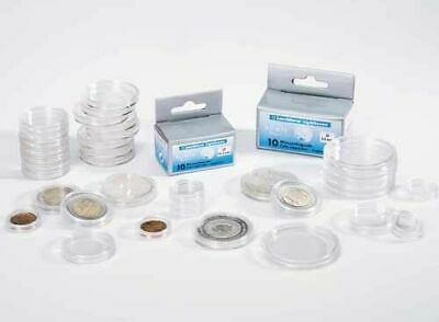 30 Boxed Lighthouse Coin Capsules All Sizes Available 14-27mm