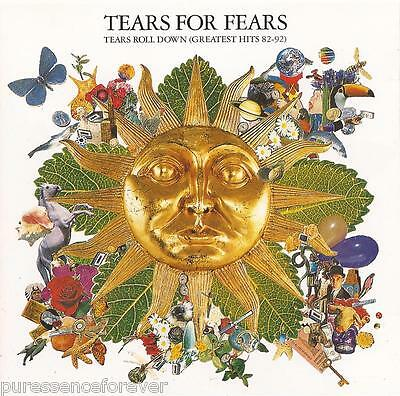 TEARS FOR FEARS - Tears Roll Down (Greatest Hits 82-92) (UK 12 Tk CD Album)