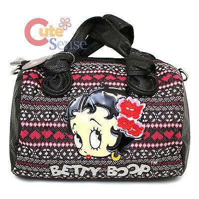 Betty Boop Aloha Betty Tapestry Hand Bag Satchel Shoulder Bag