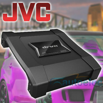 Jvc Power Amplifier Amp 600W 2 / 1  Channel For Car Stereo Audio Sub Ks-Ax5102