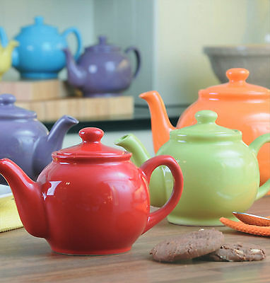 Price & Kensington Bright Colour 2 Cup Teapot 10% Off Deal Ceramic Coffee 500ml