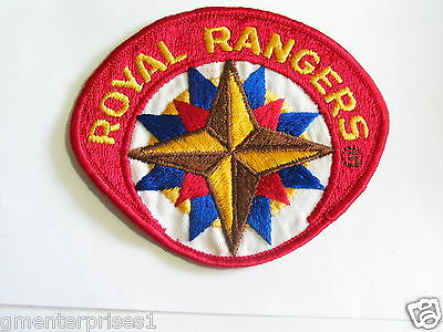 Royal Rangers Patch (older patch) (#38) *