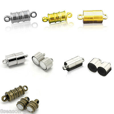 20 Sets Barrel Strong Magnetic Clasp M1469