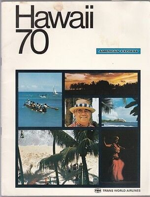 [39384] 1970 American Express Travel Guide To Hawaii