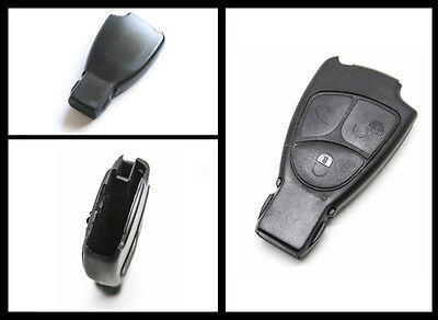 FITS TO Mercedes Benz M S C E CLS CLK SLK 3 Button Remote Key FOB Shell Case
