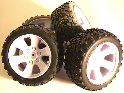 BS903-001 1/10 RC Nitro Buggy Off Road Wheels and Tyres x 4