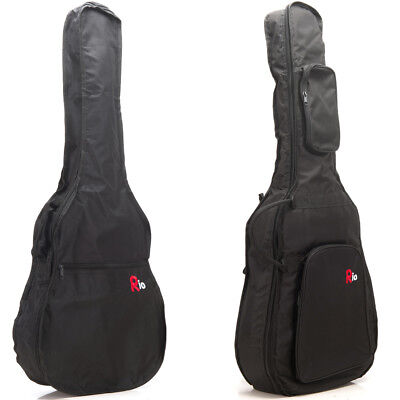 Rio Guitar Bag Acoustic Classical Electric Bass Case Cover GigBag With Straps