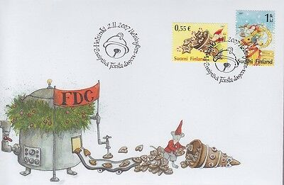 Finland 2007 - Natale - Christmas - Fdc